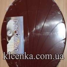 Крышка для унитаза-korichnivaya