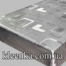 Клеёнка ПВХ Металл на тканевой основе Любава 20 м-SX-6157G