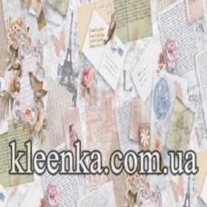 Клеёнка Модерно на флизелиновой основе 20 м Турция - 6110-01